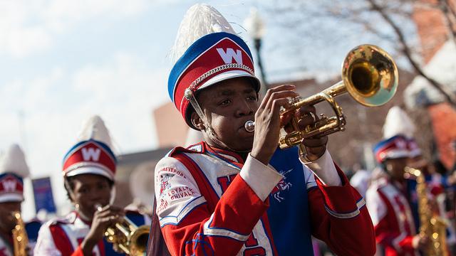 Marching Band at University Parade