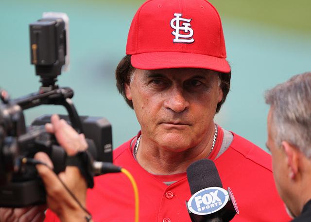 St. Louis Cardinals manager Tony La Russa