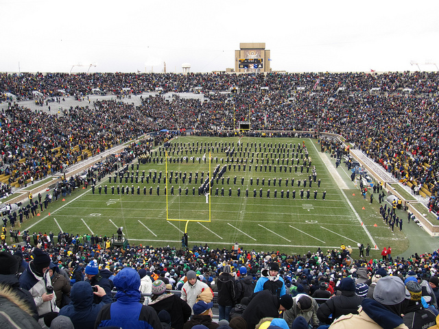 University of Notre Dame Football